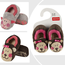 Closed Back Infant Toddler Shoes Anti Slip Soft Sole Little monkey Lamb Prewalke