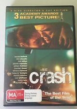 Crash - Bullock - Director's Cut (DVD, R4, 2-Discs, Like New)