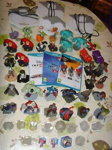 Disney Infinity 1-3 40+ Figures & Boards Collection