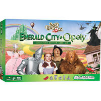 WIZARD OF OZ EMERALD CITY OPOLY Board Game NEW Collectors Edition Monopoly style