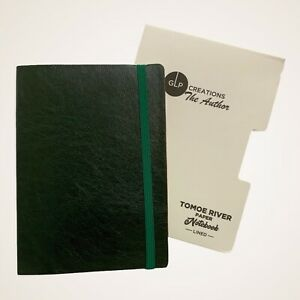 GLP Creations The Author - Tomoe River Paper - Notebook, Lined 68 GSM, 192 Pages