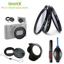 Filter CPL ND UV Lens hood Cap Adapter ring for Sony DSC RX100 Mark VI RX100M6