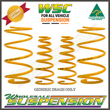 FRONT SSL & REAR SSSL ULTRA LOW COIL KING OF SPRINGS VT/VX/VY/VZ COMMODORE SEDAN
