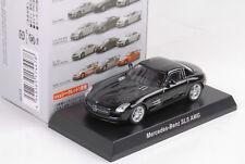 Mercedes-Benz AMG SLS negro negro 1:64 Kyosho JAPAN