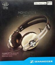 Sennheiser Momentum On Ear Ivory M2 OEi Wired Headphones iPhone Open Box Unused