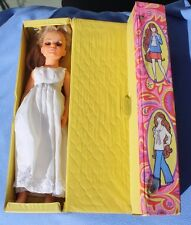Blonde Kerry Doll with Crissy tote 1969