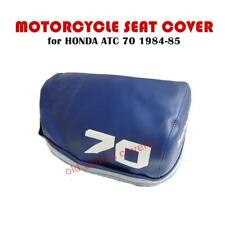 MOTORCYCLE SEAT COVER HONDA ATC70 ATC 70 1984 1985 IN BLUE