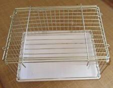 Bird Bath / Weaning cage, wire and plastic