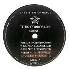 "The Sisters Of Mercy - This Corrosion - 7"" Vinyl Record Single"