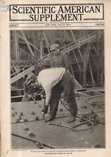 1917 Scientific American Supp May 12 - Jacoons - aborigines of Malaysia; Ships