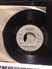 "George Harrison 7"" 45 Dark Horse APPLE P-1877  1974 RARE"