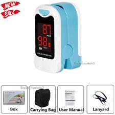 Sport Fitness Finger Tip Pulse oximeter Blood Oxygen SPO2 Heart Rate Monitor USA