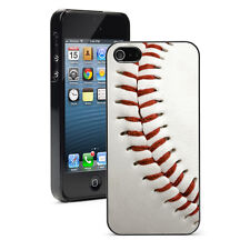 For iPhone X XS Max XR SE 5 6 6s 7 8 Plus Hard Case Cover 76 Close Up Baseball