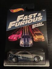 2016 HOT WHEELS WALMART USA Exclusives FAST AND FURIOUS Nissan Skyline GT-R R34