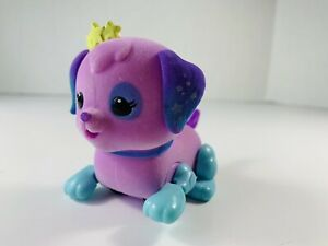 Little Live Pets Lil' Cutie Pup STAR PAWS Interactive Puppy Dog Purple WORKS