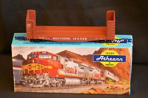 Athearn 01455 Pulpwood wagon Southern Railroad 124358 HO gauge Railroad