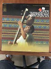 "(BEATLE RELATED) ""THE GENIUS OF RAVI SHANKAR"" LP COLUMBIA RECORDS CS 9560"