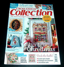 CROSS STITCH COLLECTION UK MAGAZINE ~ DEC. 2015 ~ #256 ~ VICTORIAN CHRISTMAS +++