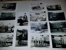 WWII HUGE LOT 140 PLUS 14TH USAAF B-24 LIBERATORS BOMBERS CREWS NOSE ART LOOK