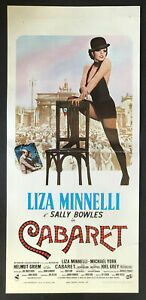 CINEMA-locandina-poster CABARET Minnelli York Griem FOSSE