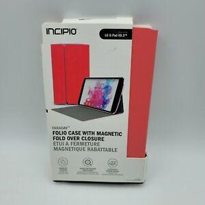 Incipio Faraday Folio Case for LG G Pad X8.3 - Pink / Gray