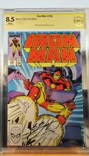 Iron Man #246 CBCS 8.5 Signed Bob Layton Comic CSCC