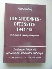 Die Ardennen-Offensive 1944/45 Studien Dokumente Wehrforschung Stuttgart Band 12