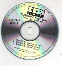Keri Hilson Feat. LiL Wayne Turnin Me ON 2008 Promo CD Lot of 2 CD's Timbaland