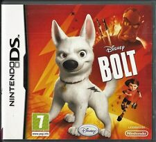 Disney's Bolt  Nintendo DS  (plays 3ds 2ds in 2D) kids game