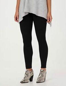 Spanx Black Jean-ish Ankle Length Leggings Tall New