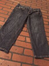 The Limited Capri Denim Jeans Size 8 womens 312 Style .
