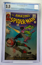 Amazing Spider-Man #39 CGC 3.5 Marvel Comic Aug 1966 Norm Osborn as Green Goblin