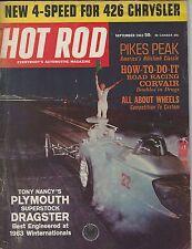 HOT ROD Magazine / September 1963 / Wheels Pt 1 / NHRA Divisional Drags: Texas