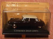 1957 CITROEN DSI9  Brown / Cream 1:43 SCALE