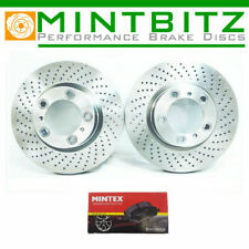 FOR PORSCHE 911 CARRERA 996 997 FRONT BRAKE DISCS & MINTEX PADS 318mm