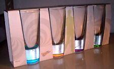Schnapsgläser Tequilagläser 140ml 4 Stück bunter boden von Böckling Neu