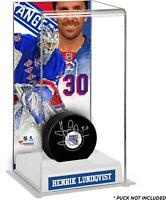 Henrik Lundqvist New York Rangers Deluxe Tall Hockey Puck Case - Fanatics
