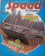Speed & Power magazine 6 June 1975 Issue 64
