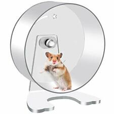 Hamster Exercise Wheel - 8.7in Silent Running Wheel for Hamsters, Gerbils, Mice