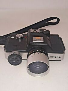 ** 1976 Minolta 110 Zoom SLR Film Camera ROKKOR MACRO 25-50MM 1:4.5 F4.5 25-50MM