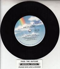 "MUSICAL YOUTH Pass The Dutchie 7"" 45 rpm vinyl record + juke box title strip"
