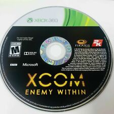 XCOM: Enemy Within (Microsoft Xbox 360, 2013) GAME DISC ONLY TESTED