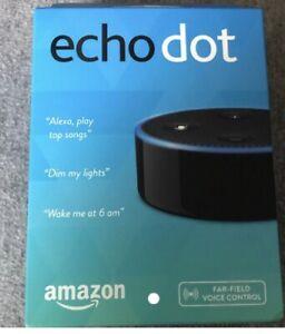 Amazon Echo Dot Second Generation Smart Speaker Black $28