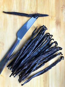 40 Madagascar Grade A  ORGANIC Bourbon Vanilla Beans [Whole]