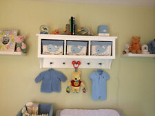 Country Shelf with Cubbies for Bath Or Entryway With Shaker Pegs Country Style 2