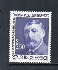 AUSTRIA MNH 1985 SG2066 150TH BIRTH ANV OF DR ADAM POLITZER