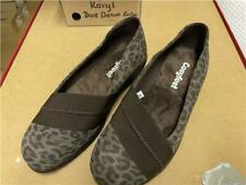 Cosyfeet Extra Roomy Zara Heeled Shoe (6E Width) Cougar Leather UK Size 5