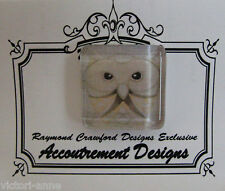 Accoutrement Designs Owl #7 Needle Minder Magnet Mag Friends Raymond Crawford