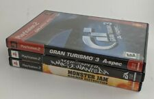 PS2 LOT Gran Turismo 3 / Need for Speed Most Wanted / Monster JAM