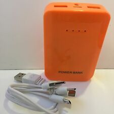 power bank 12000 MAH 2 Porte Usb 1A/2A + Led Indicatore Carica + Torcia+ Cavetto